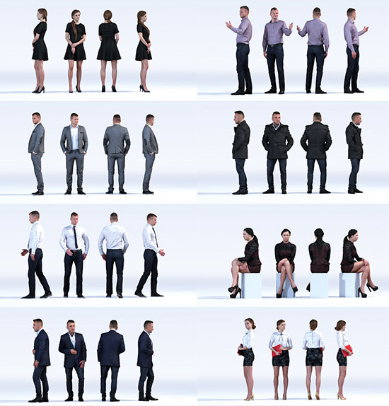 DOSCH 3D: People - Business Vol. 4 sample-image