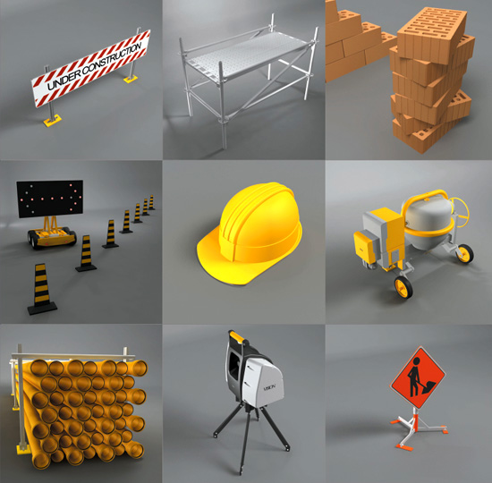 DOSCH 3D: Construction Site sample-image